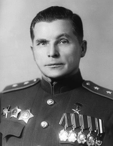 Создатель Ил-2 авиаконструктор С.В. Ильюшин