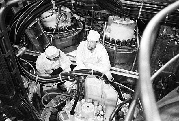 Реакторный отсек ледокола «Арктика»
