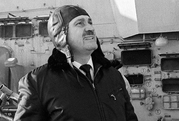 Капитан атомного ледокола «Арктика» Юрий Кучиев