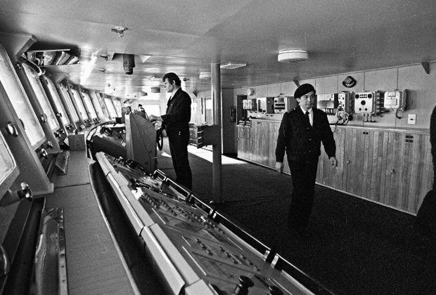 Ходовая рубка ледокола, 1977 год