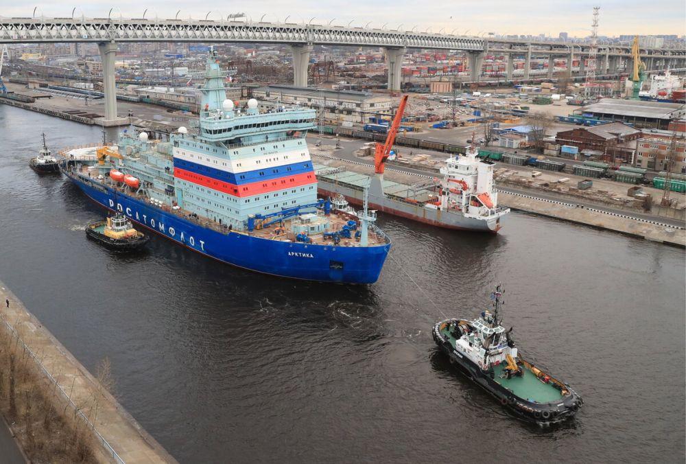 Атомоход проекта 22220 «Арктика»
