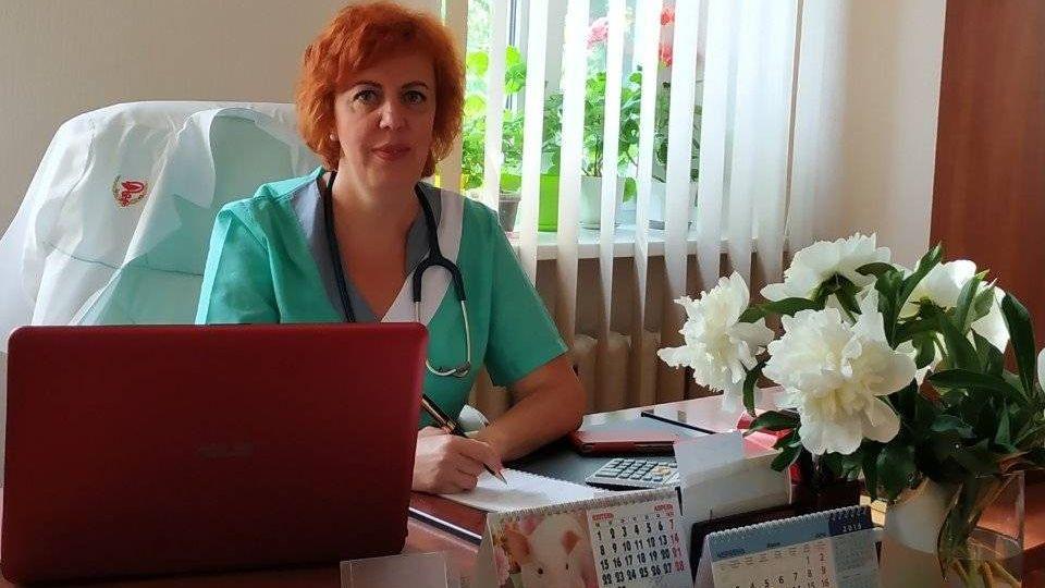 Главврач Николаевского областного центра лечения инфекционных болезней Светлана Фёдорова