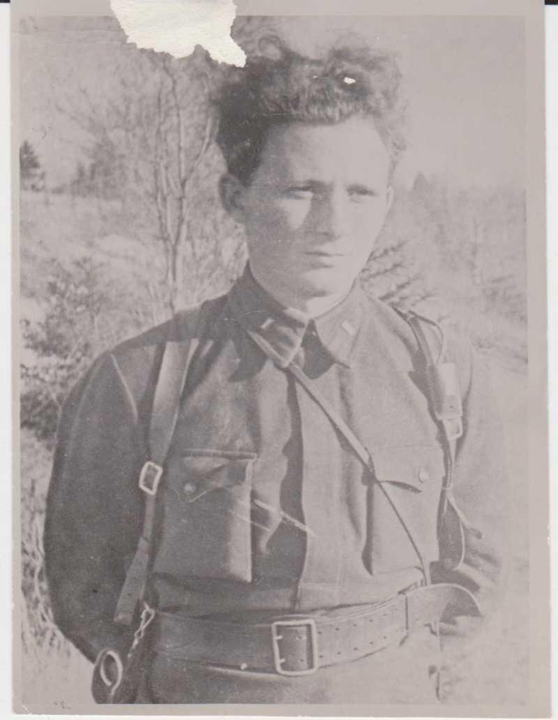 Иван Стаднюк в молодости