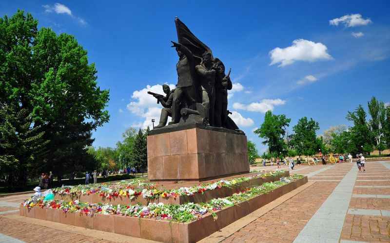 Памятник Десанту Ольшанского в Николаеве