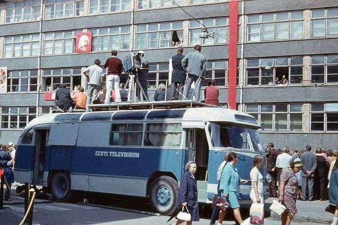 Завод ЛАЗ при СССР