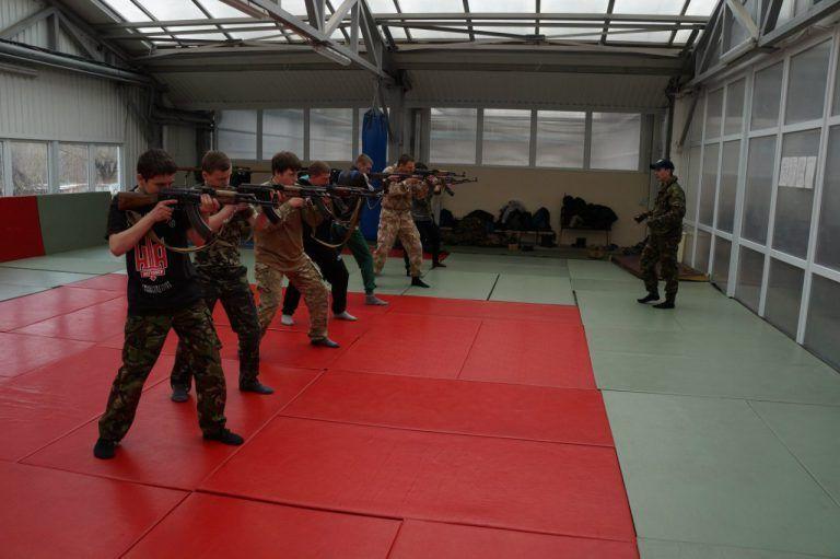 Военная подготовка боевиков в «Национальном альянсе»