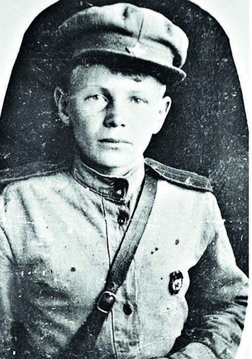 Сын полка Пётр Филоненко, фото Романа Кармена