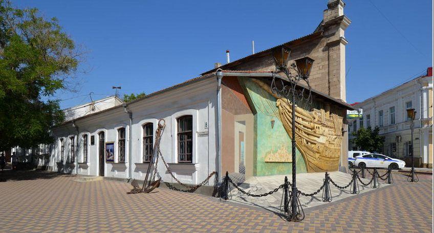 Гриновский квартал в центре Феодосии
