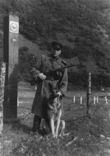 Никита Карацупа на страже границы