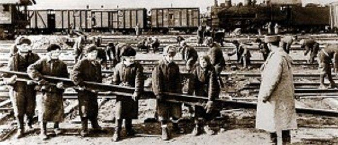 Строительство Волжской рокады – «дороги жизни» для Сталинграда. 1942 год