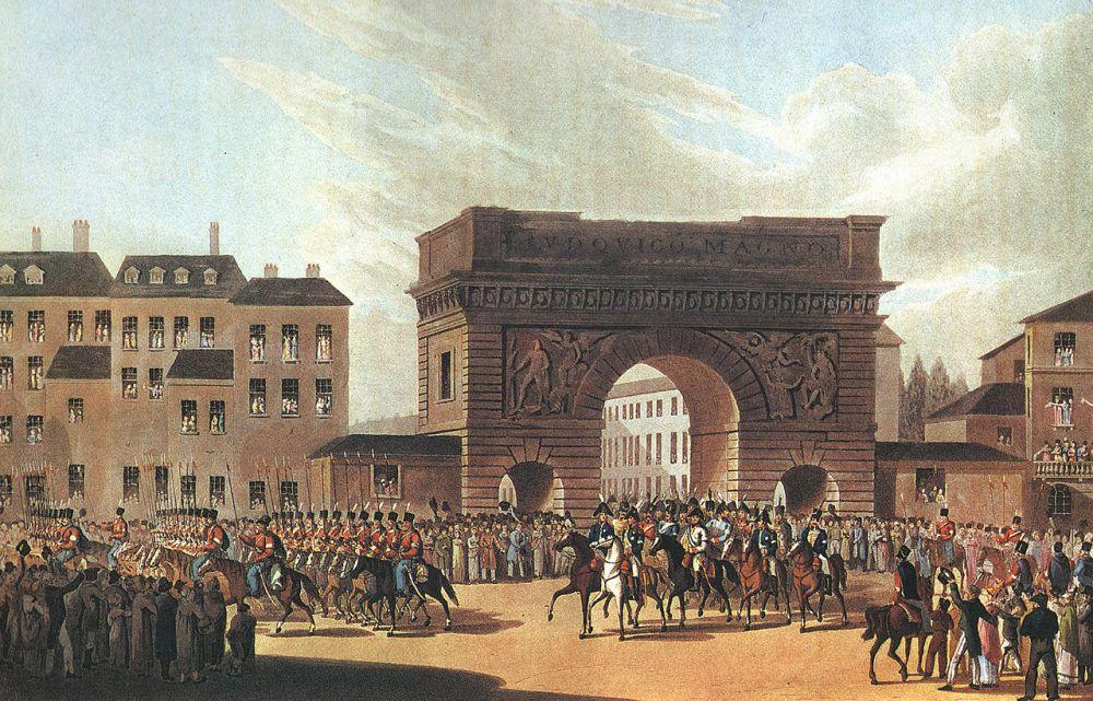 Русская армия вступает в Париж. 19 (31) марта 1814 г.