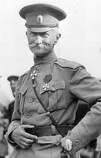Генерал-адъютант Алексей Брусилов. 1917 г.