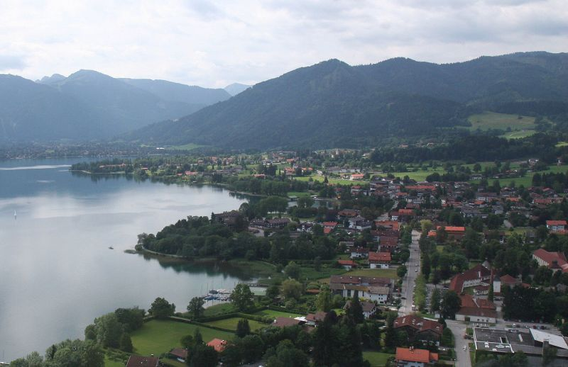 Местечко Бад-Висзее в земле Бавария, где в конце 1940-х размещался один из лагерей подготовки наёмников-диверсантов