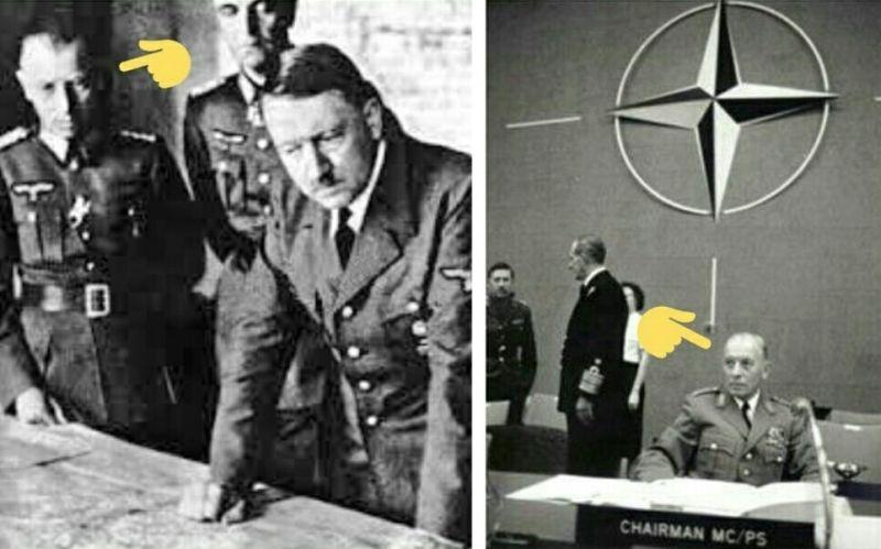 Адольф Хойзингер, недавний соратник Гитлера, в послевоенные годы сделал блестящую карьеру в НАТО