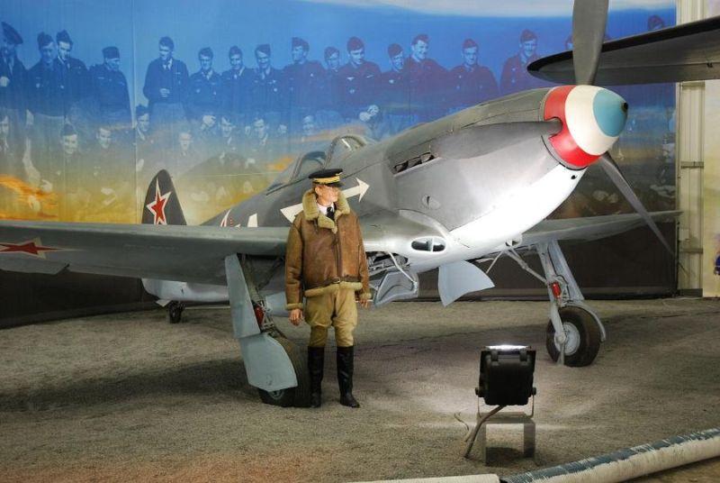 Истребитель Як-3 полка «Нормандия-Неман» в Ле-Бурже