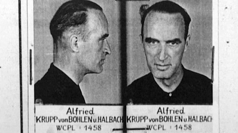 Альфрид Крупп был приговорён к 12 годам заключения