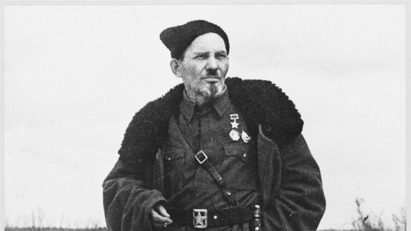 Партизанский командир Сидор Артемьевич Ковпак