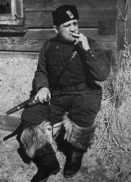 Командир Черниговско-Волынского партизанского соединения Алексей Фёдоров, 1942 год