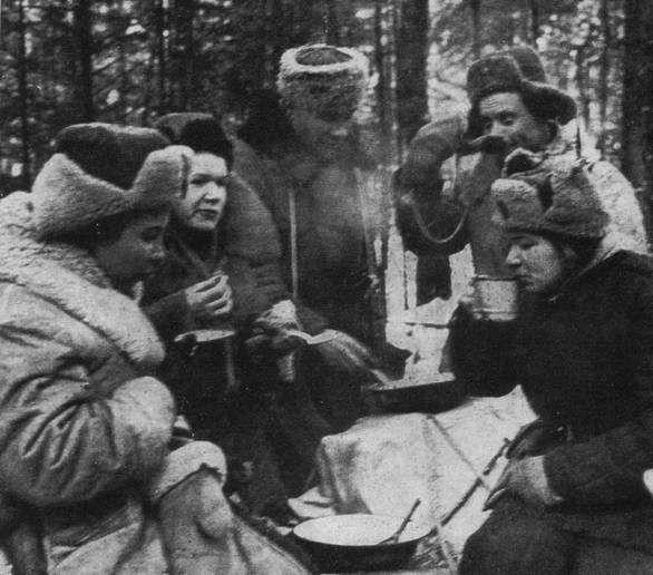 Партизаны соединения Алексея Фёдорова