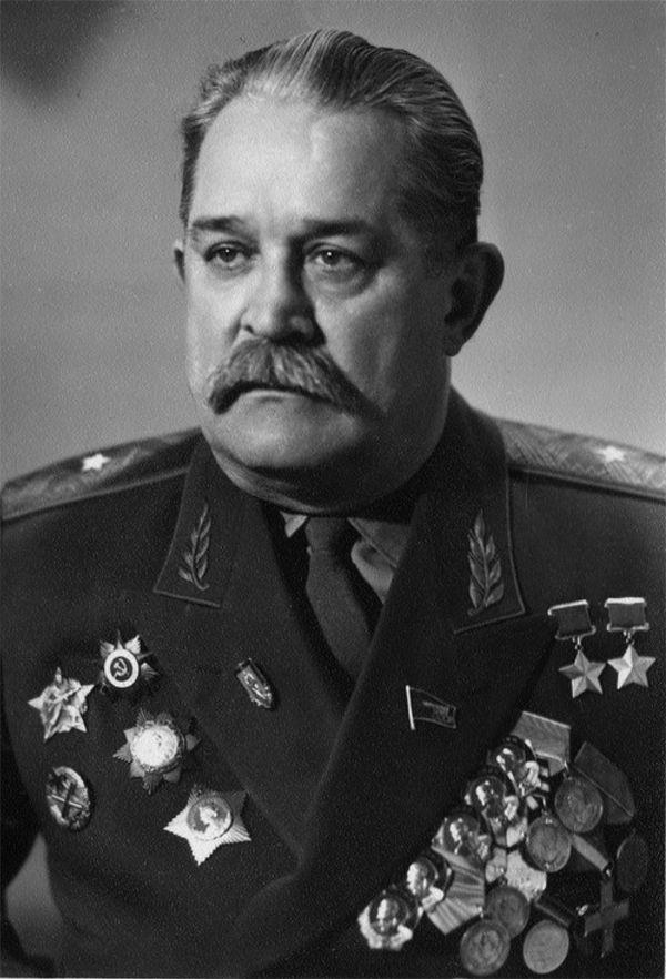 Генерал-майор А.Ф. Фёдоров.