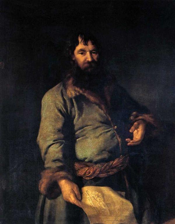 Портрет Н.А. Сеземова кисти Дмитрия Левицкого