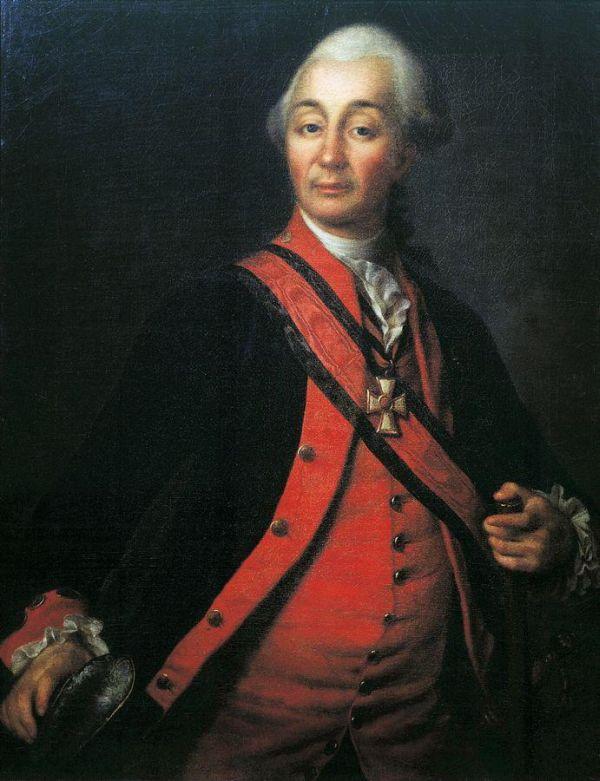 Портрет Александра Васильевича Суворова