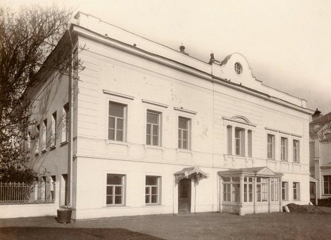 Особняк в Москве, в котором жила семья Третьяковых