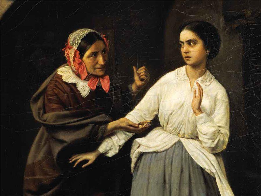 С картины Николая Шильдера «Искушение» Третьяков начал собирать свою коллекцию