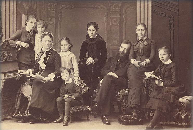 Семья Третьяковых