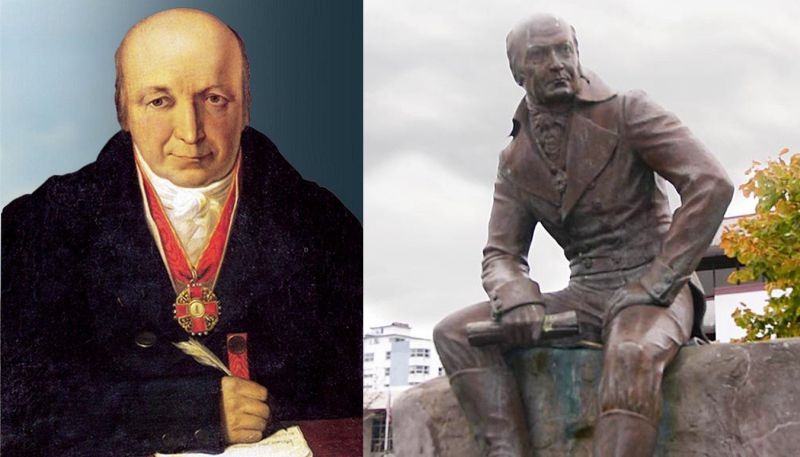 А.А. Баранов и памятник ему в Ситке (США)