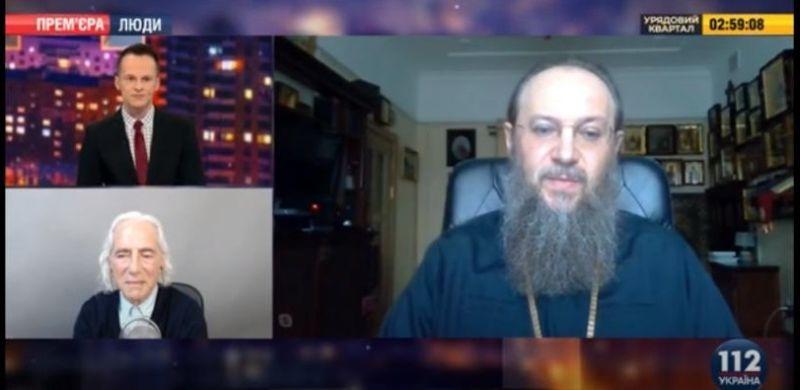 Митрополит Антоний в эфире телеканала «112 Украина»
