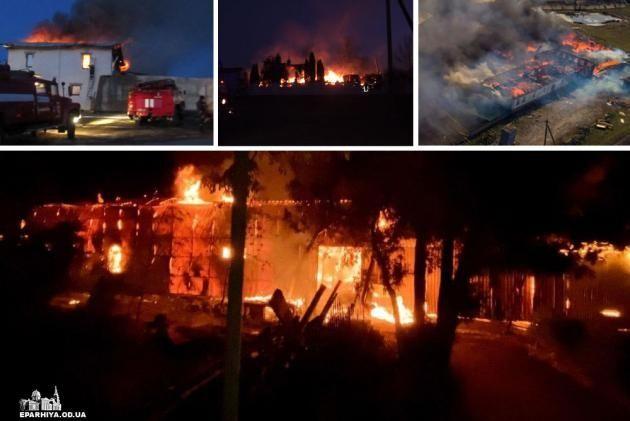 Черыре поджога храмов УПЦ МП меньше чем за две недели