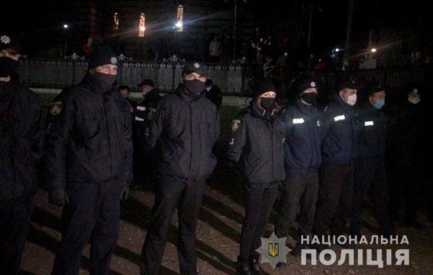 Полиция прекратила очередное поибоище в Задубровке