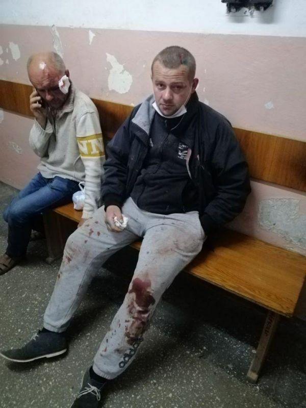 Пострадавшие от бандитов ПЦУ в Задубровке