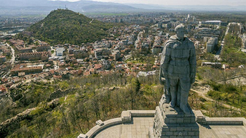 Памятник «Алёша» в Пловдиве