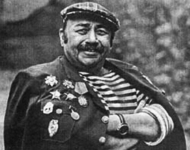 Поэт Георгий Поженян