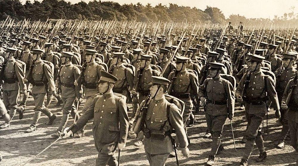 Квантунская армия, до поры до времени считавшаяся непобедимой