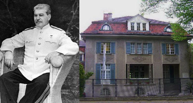 Иосиф Сталин и его вилла в Потсдаме