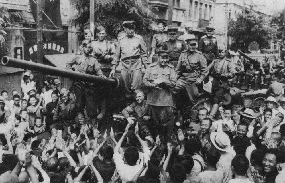 Порт-Артур вновь стал нашим 22 августа 1945 года. Кадр фотохроники