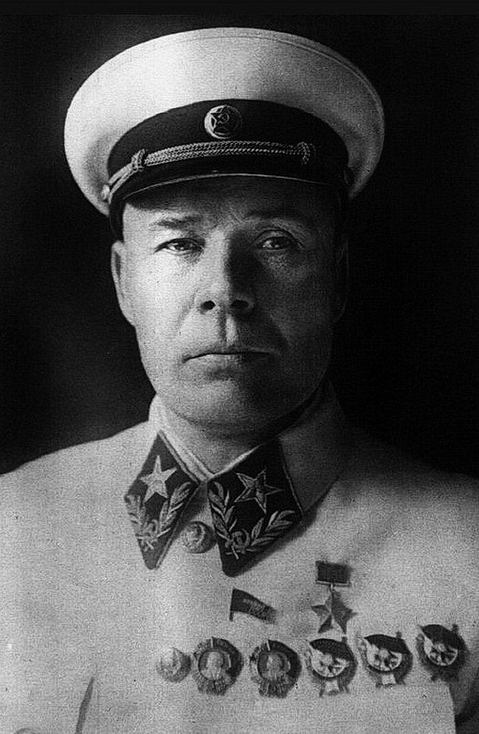 С.К. Тимошенко – Герой Советского Союза, маршал, нарком обороны СССР. 1940 г.