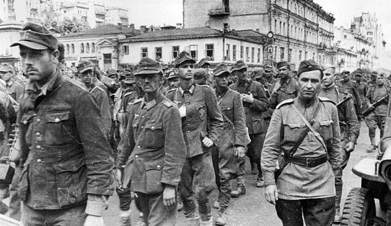 «Марш побеждённых» 17 июля 1944 года в Москве