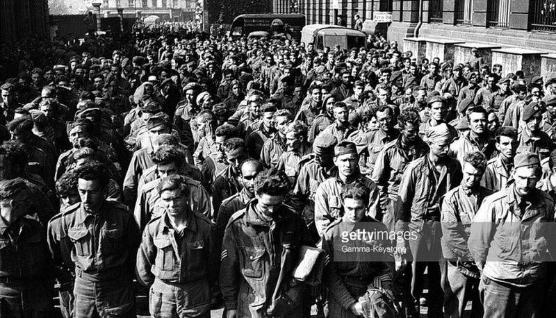 «Марш побеждённых» 17 июля 1944 года в Париже
