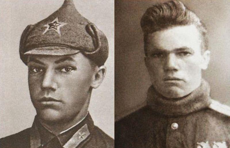 Иван Кожедуб в 1940 и 1943 годах