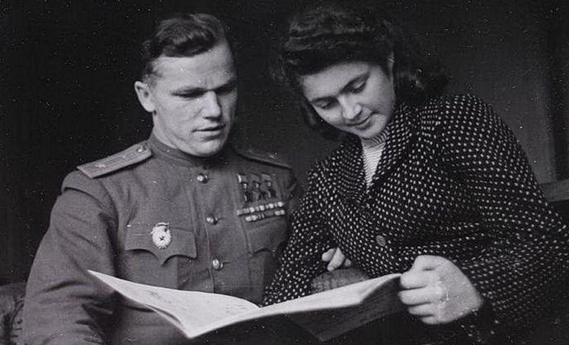 Иван Кожедуб с женой Вероникой