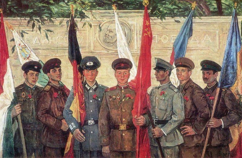 Солдаты армий стран – участниц Варшавского договора