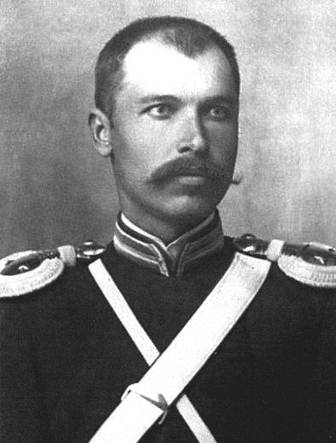 Хорунжий (соответствует нынешнему лейтенанту) Фёдор Токарев