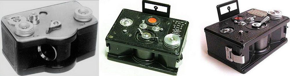 Первые советские панорамные фотоаппараты семейства «ФТ» («Фотоаппарат Токарева»)