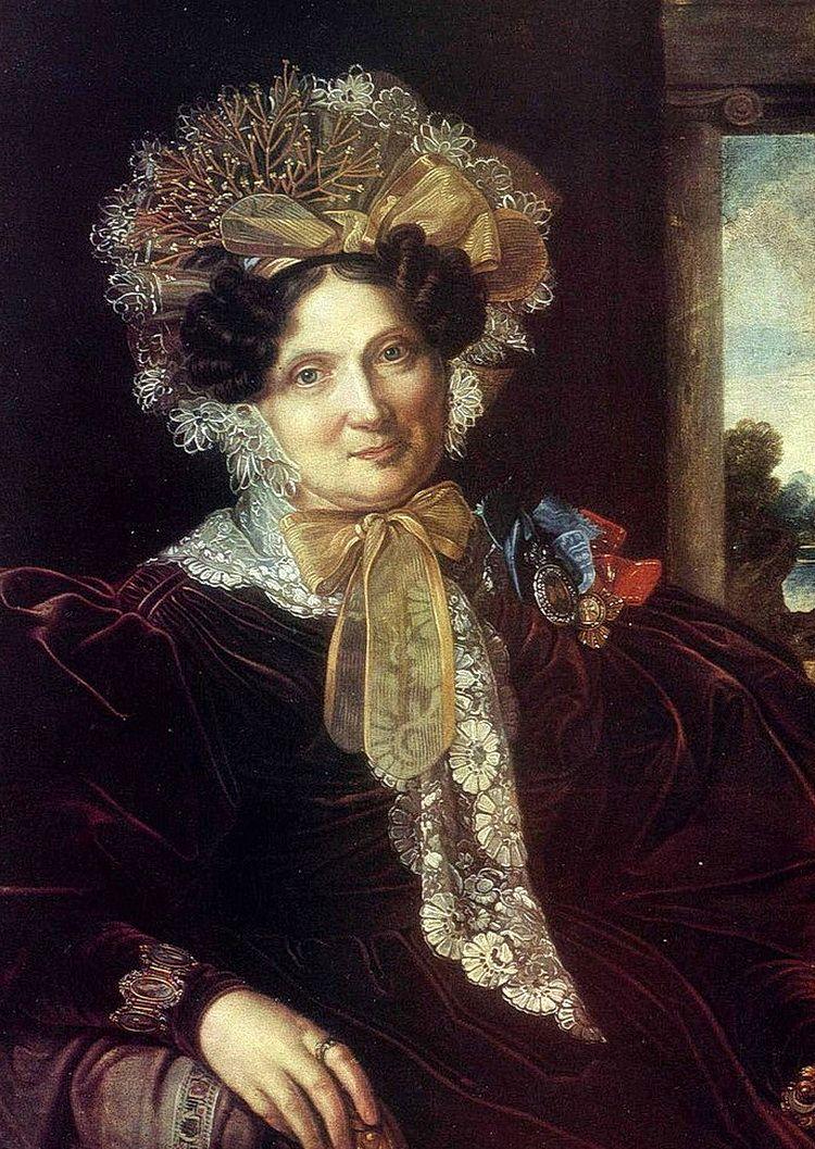 Мария Васильевна, супруга В.П. Кочубея. Неизвестный художник.