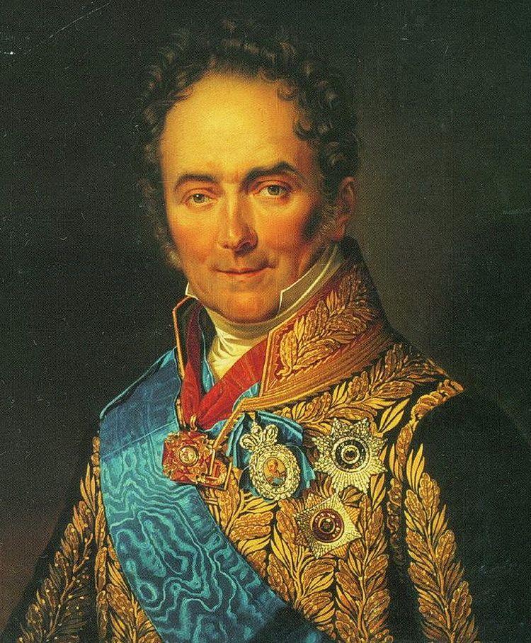 Князь В.П. Кочубей. Художник Ф. Крюгер. 1832 г.