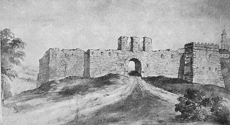 Жванецкий замок. Художник Наполеон Орда.